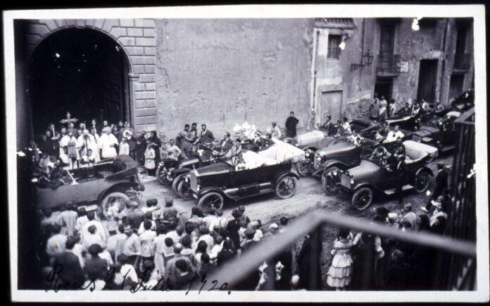 Sant Cristòfor, patró dels automòbils, per Àlex Cervelló Salvadó