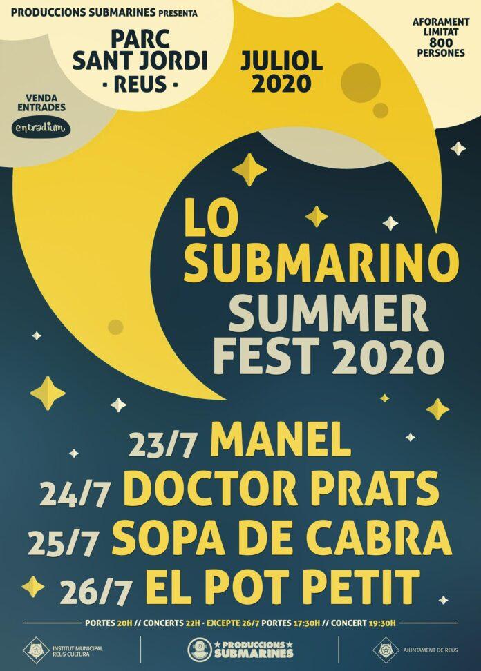 Doctor Prats cancel·la el seu concert d'avui al Submarino Summer Fest