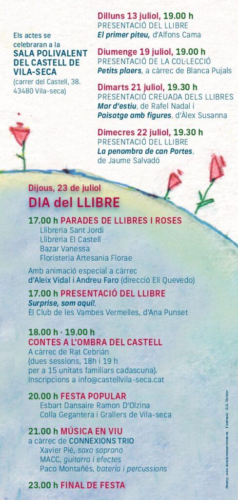 Vila-seca es prepara pel dia del Llibre i de la Rosa