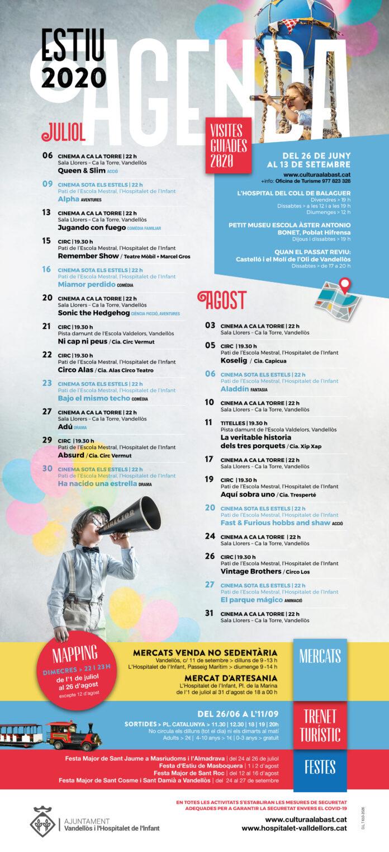 L'Ajuntament de Vandellòs i l'Hospitalet de l'Infant organitza una agenda d'actes variada per aquest estiu