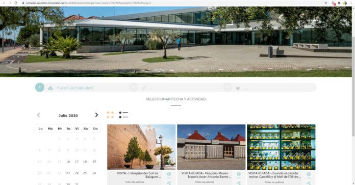 Vandellòs i l'Hospitalet de l'Infant posa en marxa el sistema de pagament online de les activitats culturals