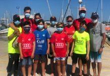 L'equip d'Optimist torna a la Competició amb el Campionat de Catalunya al Masnou