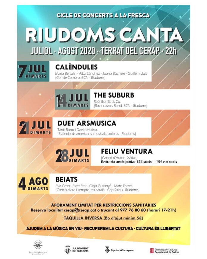 RIUDOMS CANTA
