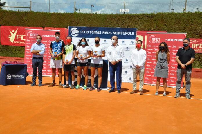 Marta Custic i Pablo Llamas es proclamen campions d'Espanya júnior de tennis