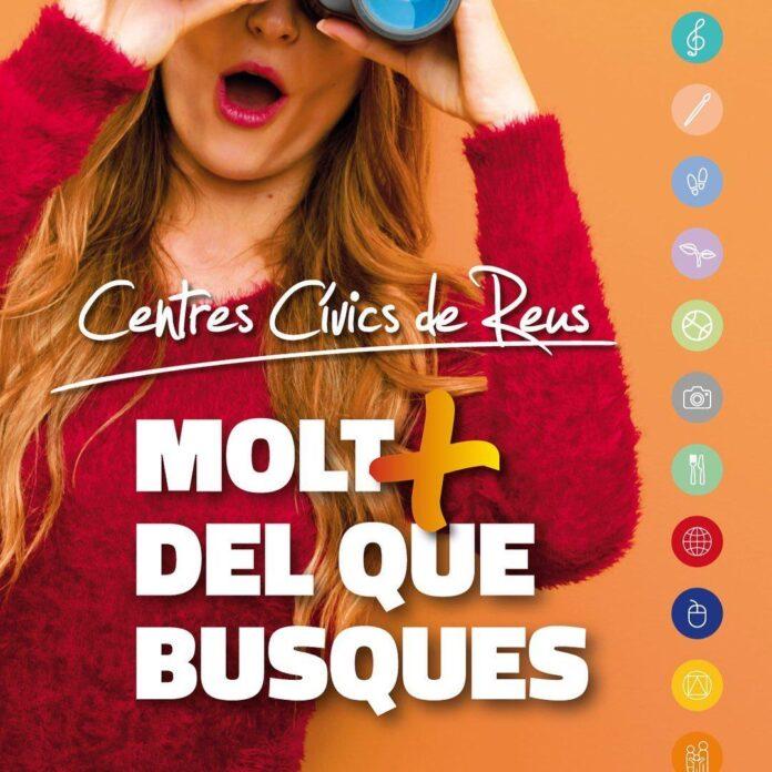 Els centres cívics de Reus estrenen programació per la temporada tardor-hivern 2020