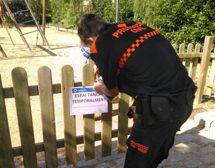 Es reobren els parcs i zones de jocs infantils davant la millora del risc de rebrot a Reus