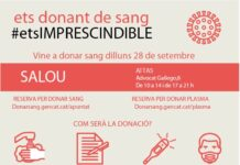 El Teatre Auditori de Salou acull una jornada de donació de sang, el proper dilluns, 28 de setembre
