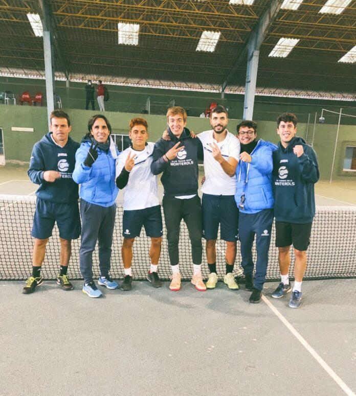 L'Absolut Masculí puja a segona categoria i es classifica per disputar la final del Campionat d'Espanya de tennis