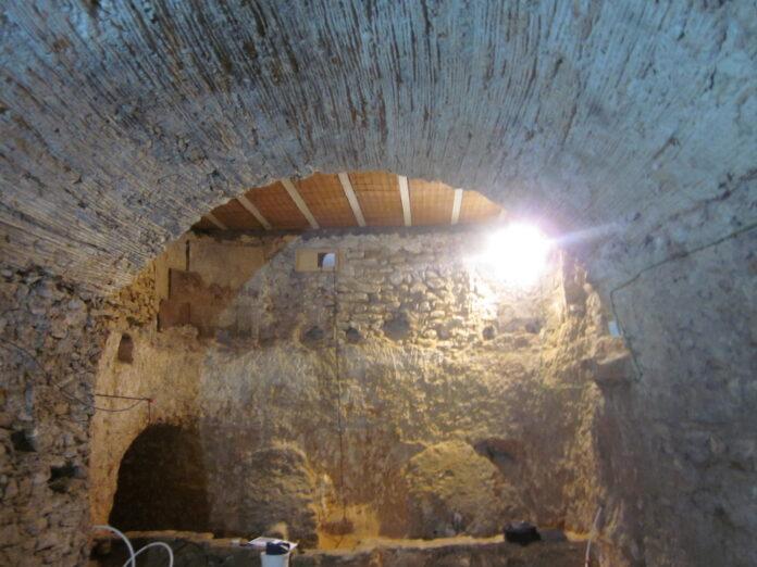 Es rehabilita el celler i l'ala nord-est del Castell de Rodonyà