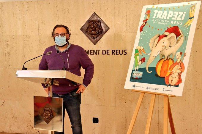 """La Fira de Circ de Catalunya Trapezi celebrarà el """"Trapezi en Viu"""" del 23 al 25 d'octubre a la capital del Baix Camp. Es tracta del """"tercer moment"""" d'aquesta 24a edició excepcional del 2020 que s'ha hagut de reinventar a causa de la Covid-19"""