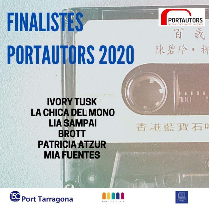 PortAutors/es 2020 publica les sis propostes finalistes de la tercera edició de la mostra musical