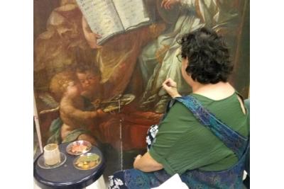 Es restaurarà el quadre de Sant Pere de la Casa de la Vila