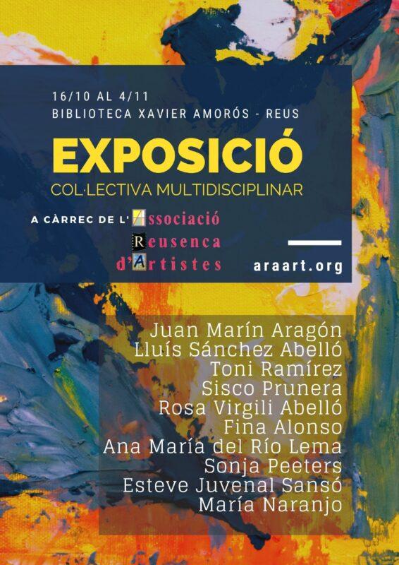 Exposició col·lectiva de l'Associació Reusenca d'Artistes ARA