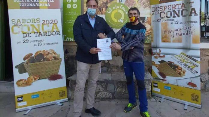 L'AEH Conca de Barberà i Fet a la Conca signen un conveni per les Jornades Sabors de la Conca de Tardor