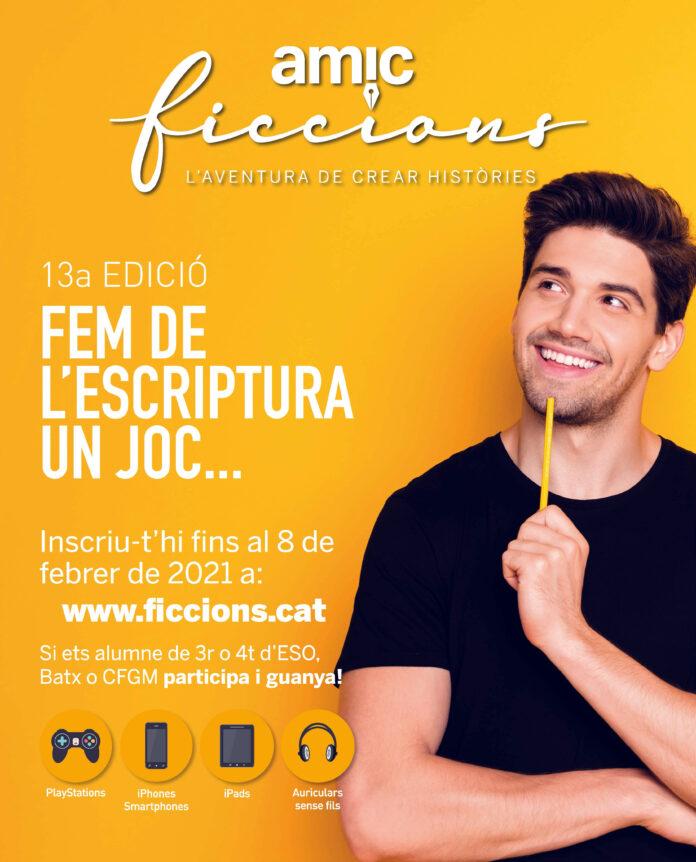 Arriba la 13a edició del concurs literari AMIC-Ficcions
