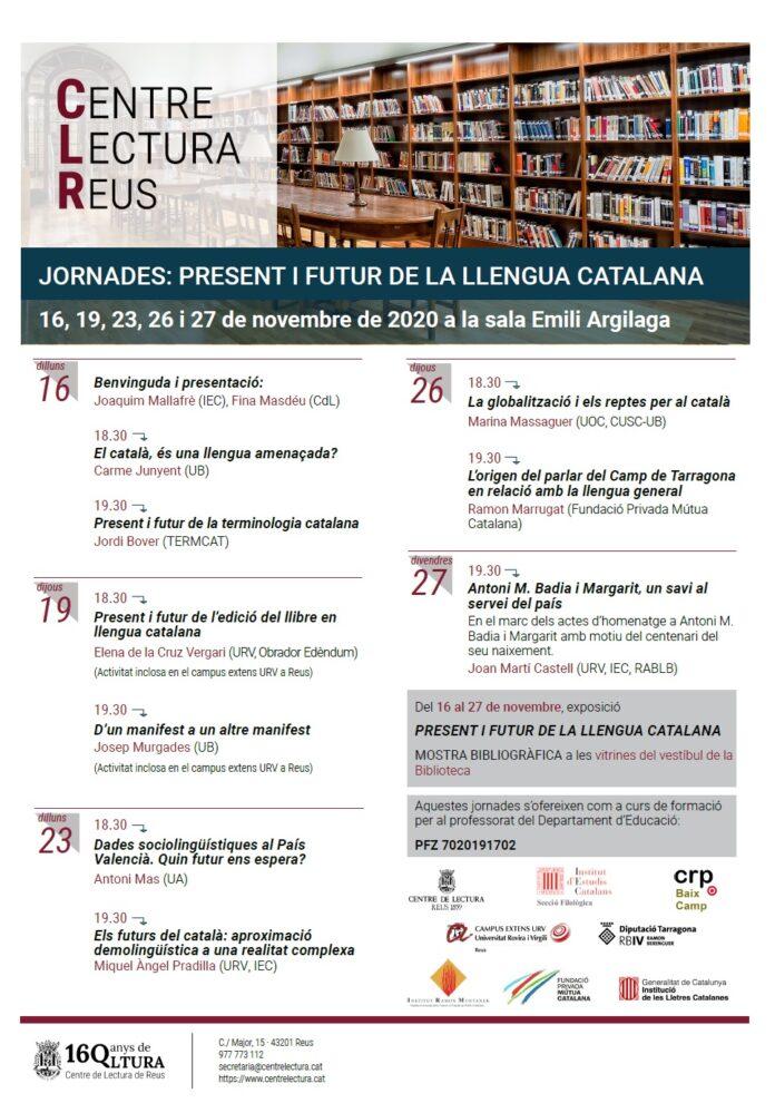 Present i futur de la Llengua Catalana al Centre de Lectura de Reus