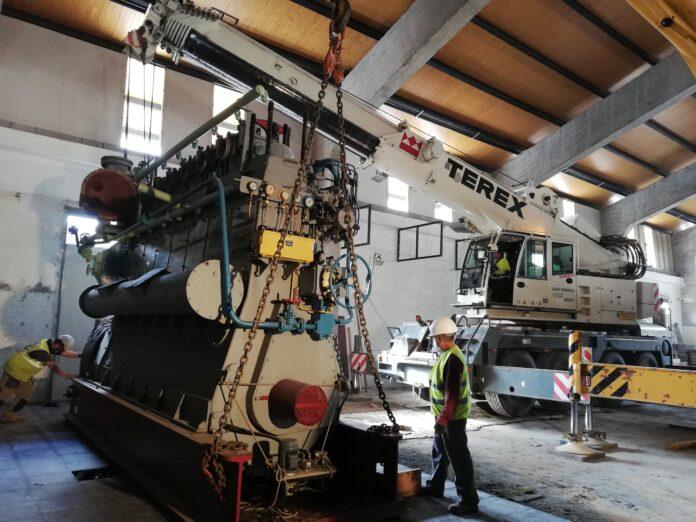 El Port de Tarragona comença a dissenyar l'interior del nou Museu reubicant el motor dièsel de l'any 1960
