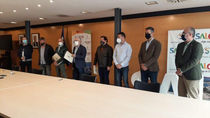 Salou i els comerciants i restauradors signen un manifest on demanen a la Generalitat que reobri els establiments