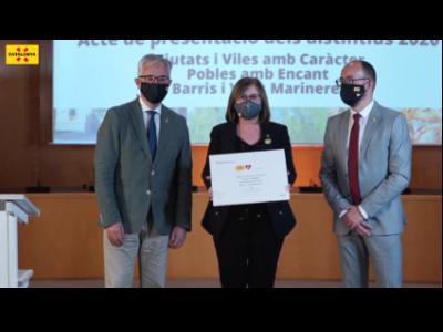 Empresa i Coneixement presenta els sis nous municipis catalans distingits amb marques turístiques