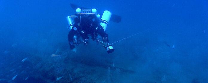 Investigació submarina (Signada: Museu de la Mar de l'Ebre)