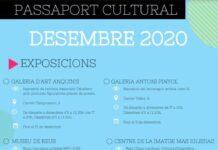 El Passaport Cultural ja està en marxa amb sis propostes per a aquest desembre