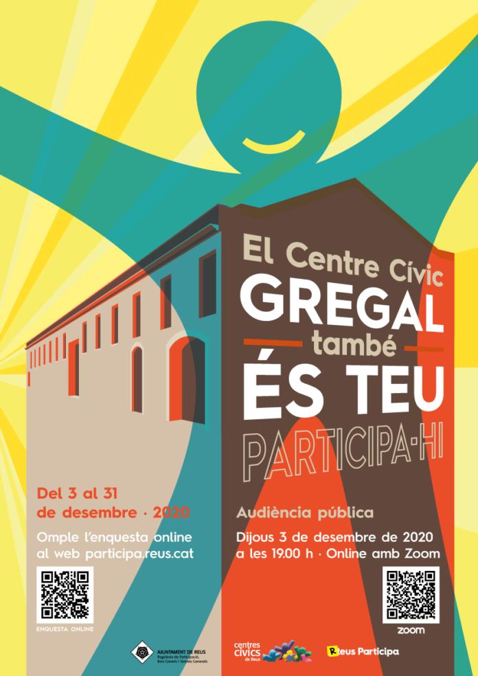 Obert fins el 31 de desembre el termini per participar en el disseny del futur centre cívic Gregal