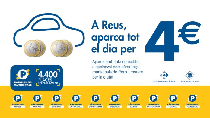 Els pàrquings municipals congelen tarifes el 2021 i mantenen el preu màxim de 4 euros