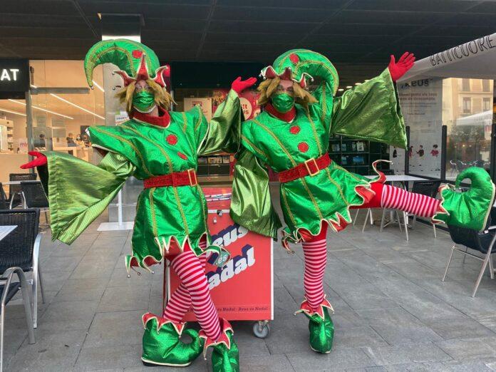 Els Follets de Nadal arriben a Reus per repartir els programes de la campanya Reus és Nadal 2020