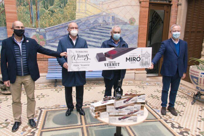 Torrons Vicens presenta el Torró de Vermut Miró