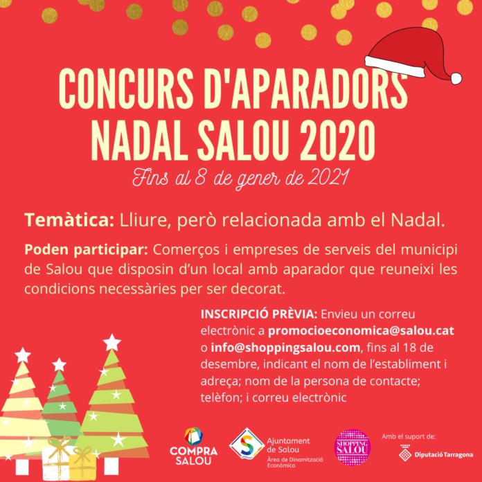Salou engega el concurs d'aparadors de Nadal 2020