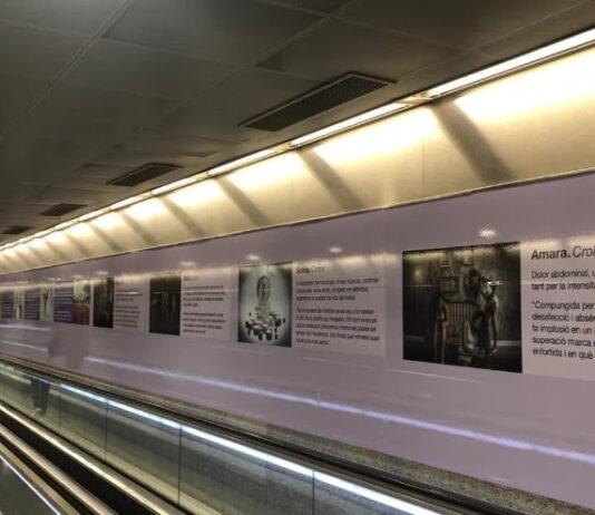 La fotògrafa reusenca, Sonia Sánchez, exposa al metro de Barcelona