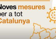 El PROCICAT allarga 15 dies més les mesures per intentar frenar la situació epidemiològica de Catalunya
