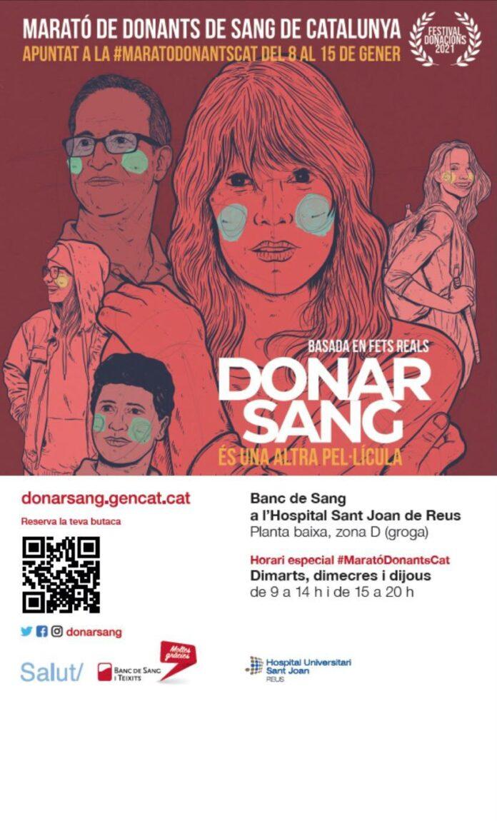 El Banc de Sang activa la Marató de Donants de Sang de Catalunya en un moment de baixa reserva