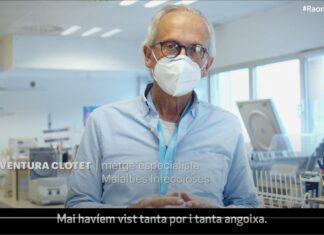 Els Col·legis Professionals de l'àmbit de la salut llencen el vídeo #RaonsperVacunarme amb un missatge conjunt per promoure la vacunació enfront la COVID-19