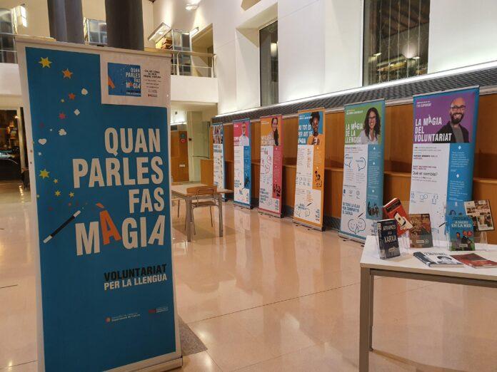"""Arriba a Reus l'exposició """"Quan parles fas màgia"""" del Voluntariat per la llengua"""