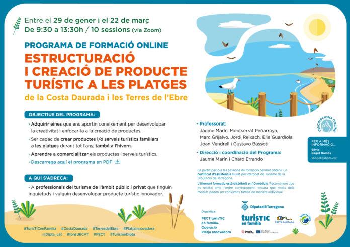 Un nou programa formatiu se centra en la creació de producte turístic de litoral
