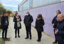 El conseller d'Educació, Josep Bargalló, visita Cambrils