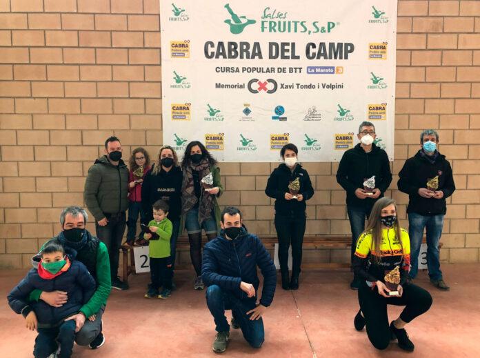Cabra del Camp tanca la Marató de TV3 amb una pejalejada