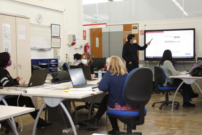 Mas Carandell inicia diferents cursos de formació per a l'ocupació dels que també podran beneficiar-se persones en ERTE