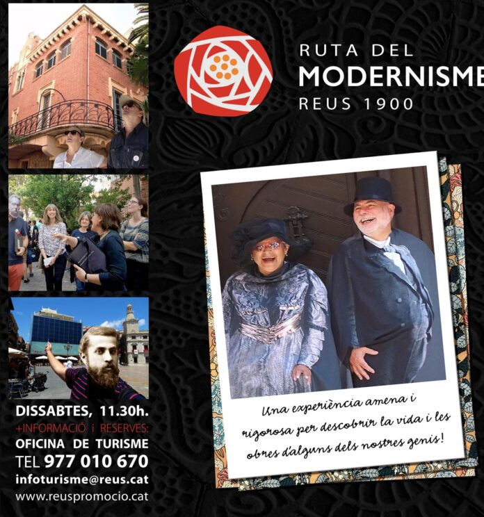 La Ruta del Modernisme es reprèn aquest dissabte