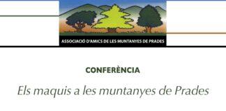 """Gairebé 70 persones inscrites a la conferència """"Els maquis a les Muntanyes de Prades"""""""