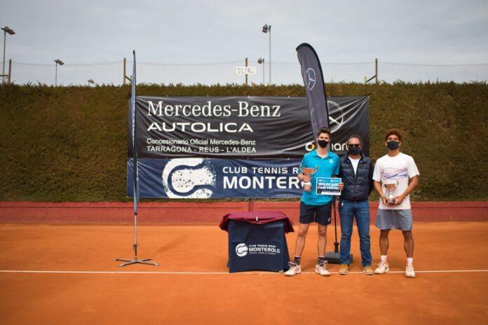 Xavier Matas, campió del VIII Open Nacional Ciutat de Reus Autolica Mercedes Pre World Tennis Tour 2021