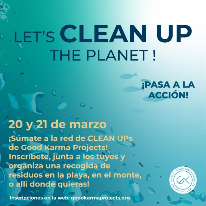 Salou dona suport a una campanya de recollida de residus a la platja, promoguda per Good Karma Projects