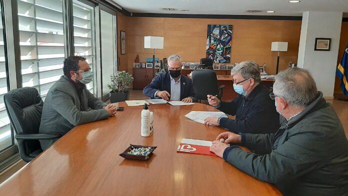 Salou signa tres convenis de col·laboració amb les entitats que ajuden les persones més necessitades, en el marc de l'emergència social i econòmica, provocada per la COVID-19