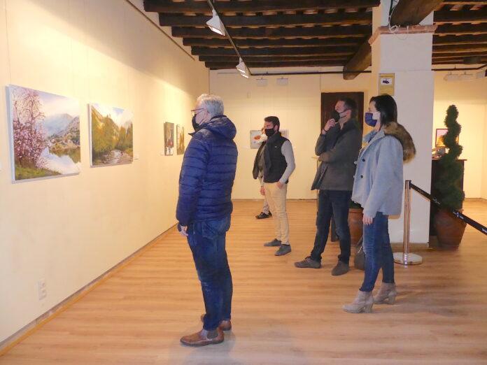 La vintena edició de l'Exposició d'Artistes Locals de Salou es podrà visitar fins el 31 de març a la Torre Vella