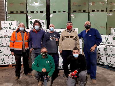 135 residències del Camp de Tarragona i de Lleida rebran calçots de Valls