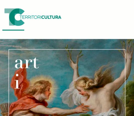 """Cartell de l'exposició, """"Art i Mite. Els Déus del Prado"""""""
